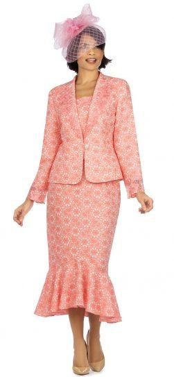 giovanna, 1143, coral church suit