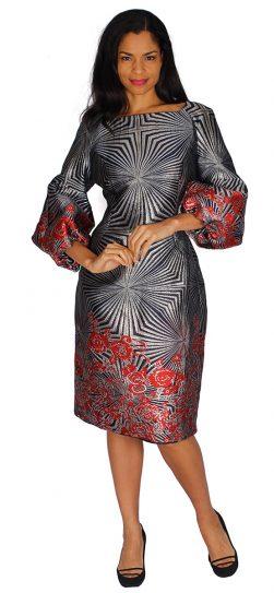 diana, 85332, navy print dress