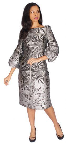 diana,8532, silver print dress