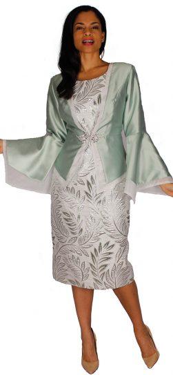 diana, 8591, sage dress and jacket