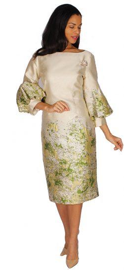 diana, 8592, champagne dress