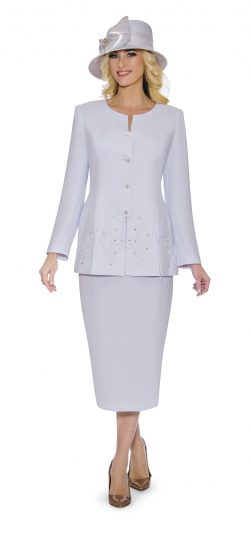 Giovanna,skirt suit, 0920,white skirt suit, white plus size skirt suit