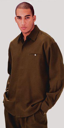 zen, 2612, brown walking suit, men's walking suit