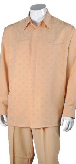 peach mens walking suit, 2762