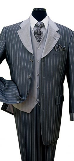 2911v, mens pinstripe suit