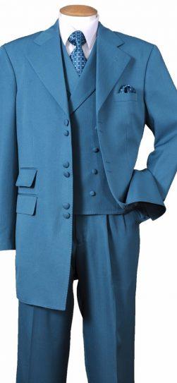 longstry 2917, turquoise mens dress suit