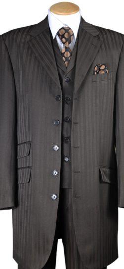 longstry 29198, men's dress suit brown