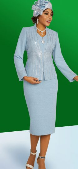 benmarc, knit skirt suit, 48303