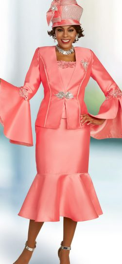 benmarc, pink skirt suit, 48331, dressy pink skirt suit