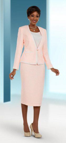 benmarc executive, style 11660, peach-off white, size 12-30