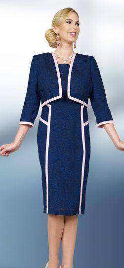 benmarc executive, style 11571, navy-pink, size 8-20
