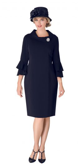 giovanna, d1518, dark navy dress