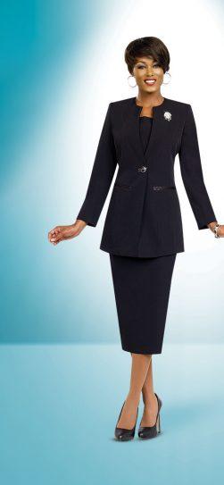 Benmarc skirt suit 78099 Black