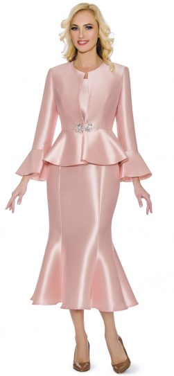 giovanna, g1086, pink skirt suit