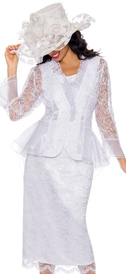 Church Suit, Skirt Suit, Lace Skirt Suit, Women's Suit