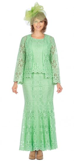 giovanna, 0946, mint skirt suit