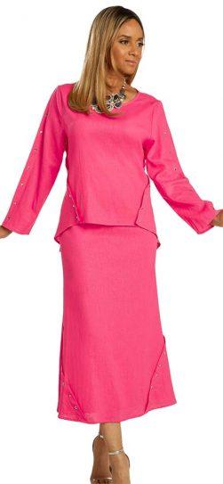 lisa renee, 3359, linen skirt set