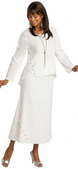lisa rene, 3359, linen skirt set