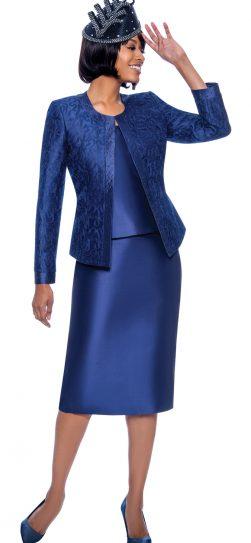 susanna, 3885, dressy navy skirt suit
