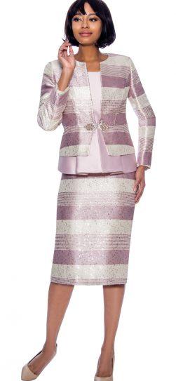 susanna, 3927, dressy mauve skirt suit