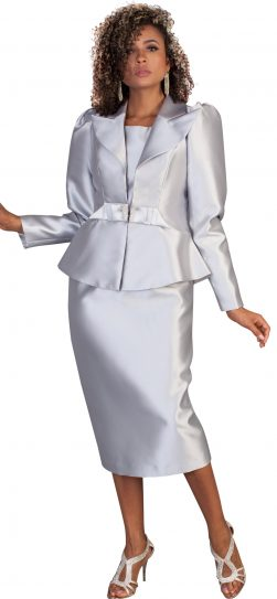 Tally Taylor, 4624, Silver three piece suit