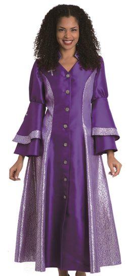 diana, 8147, purple-silver robe