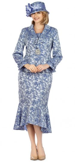 giovanna, 0936, blue church suit