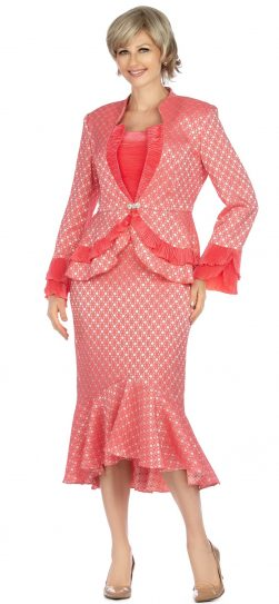 giovanna, g1142, hot pink skirt suit