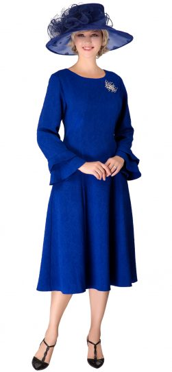 giovanna, d1523, royal blue dress