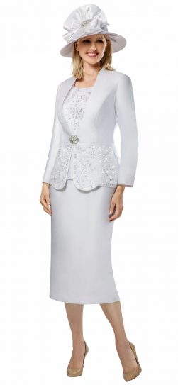 giovanna, g1088, white dressy church suit