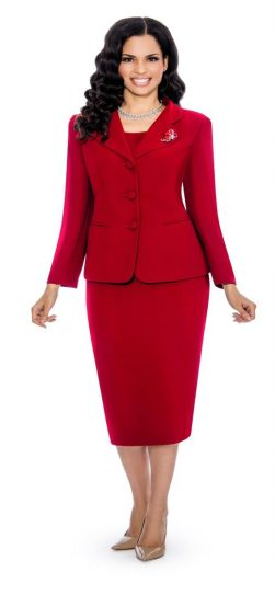 giovanna,skirt suit, usher suit, red usher suit, 0824