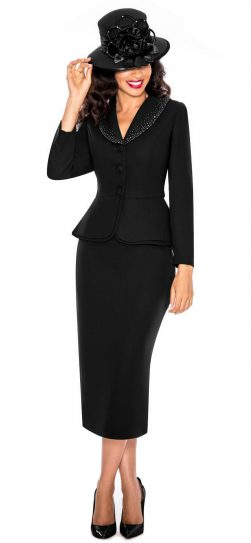 Giovanna,black church suit, 0709