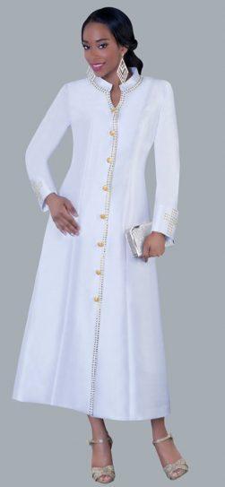 tally taylor, 4445, white robe