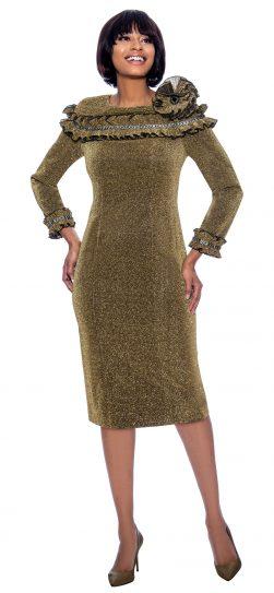 terramina, 7857, gold dressy dress