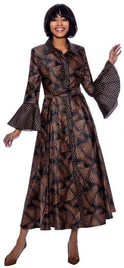 terramina, 7858, long bronze dress