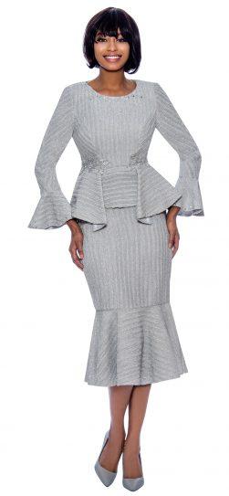 terramina,7860, dressy silver dress