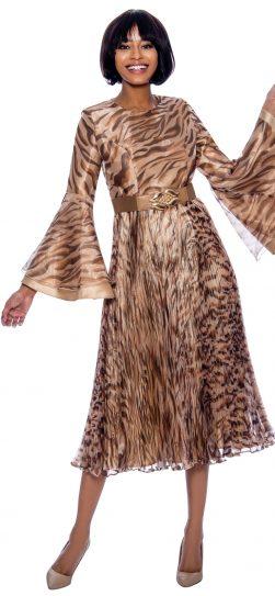 terramina, 7865, animal print dress
