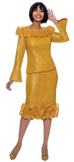 terramina, 7867, mustard dressy dress