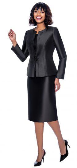 terramina, 7874, dressy black skirt suit