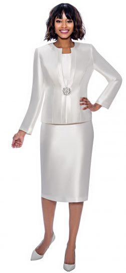 terramina, 7874, white skirt suit