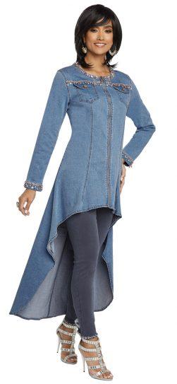 Donna Vinci, 8426, Light Blue