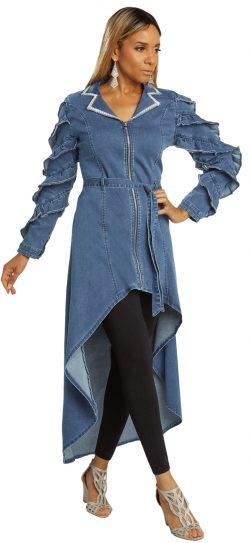 Donna Vinci, 8436, Blue