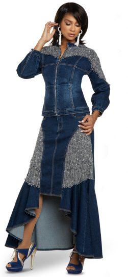 Donna Vinci, 8438, Blue