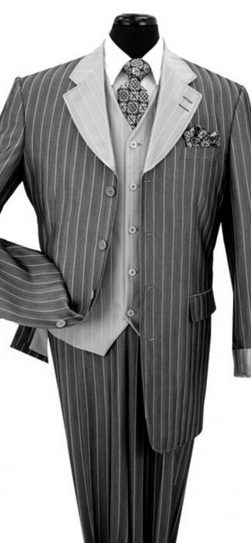 2911v, mens pinstripe suit