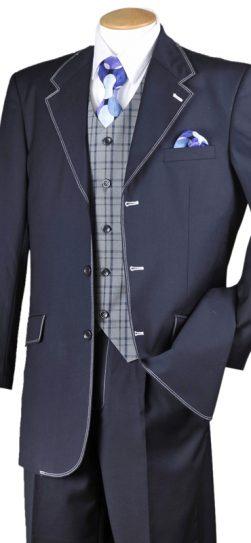 longstry 2916, men's navy dress suit