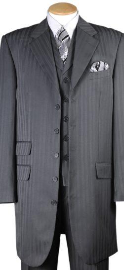 longstry 29198, men's dress suit grey