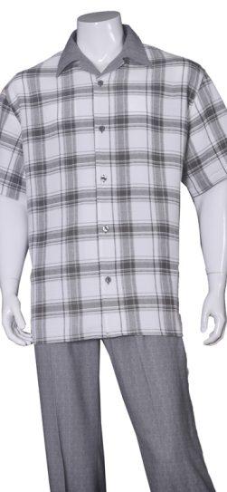 short sleeve walking suit 2972