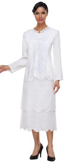 Skirt Suit, Church Suit, Women's Suit, Linen