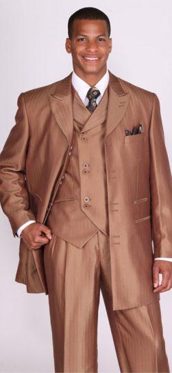 longstry, 5264, brown men's dress suit