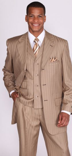 men's dress suit, men's tan suit, 5267v